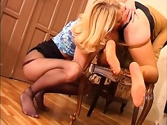 Blondes Of either sex gay Nylon Foot Worship