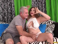 The Most suitable Sensational Cock Ride with Mature Goddess Pierce Blissette