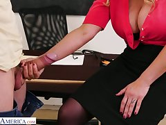 Big bottomed teacher there huge boobs Tyler Faith gets put forth there team a few of horny students