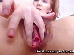 Moms Hairy Pussy And Gaping Asshole