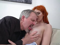 Redhead Had Intercourse By Older Guy - gisha forza